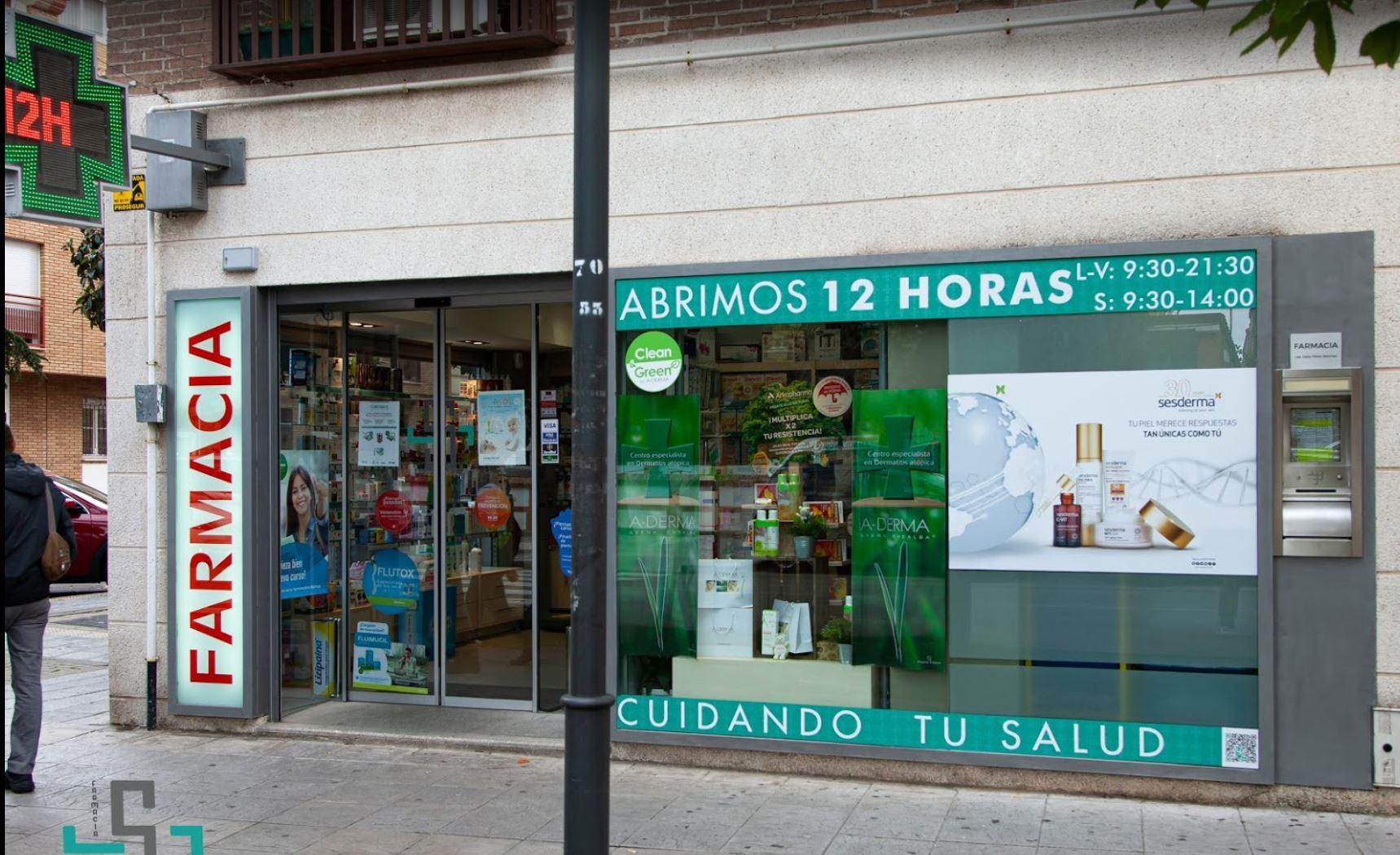 Farmacia vendida en Azuqueca de Henares Calle Siguenza