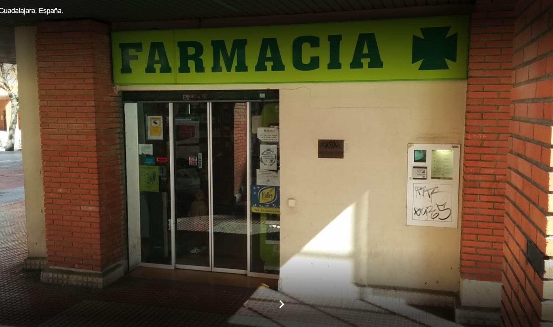 Farmacia vendida en Guadalajara capital Calle Roncesvalles