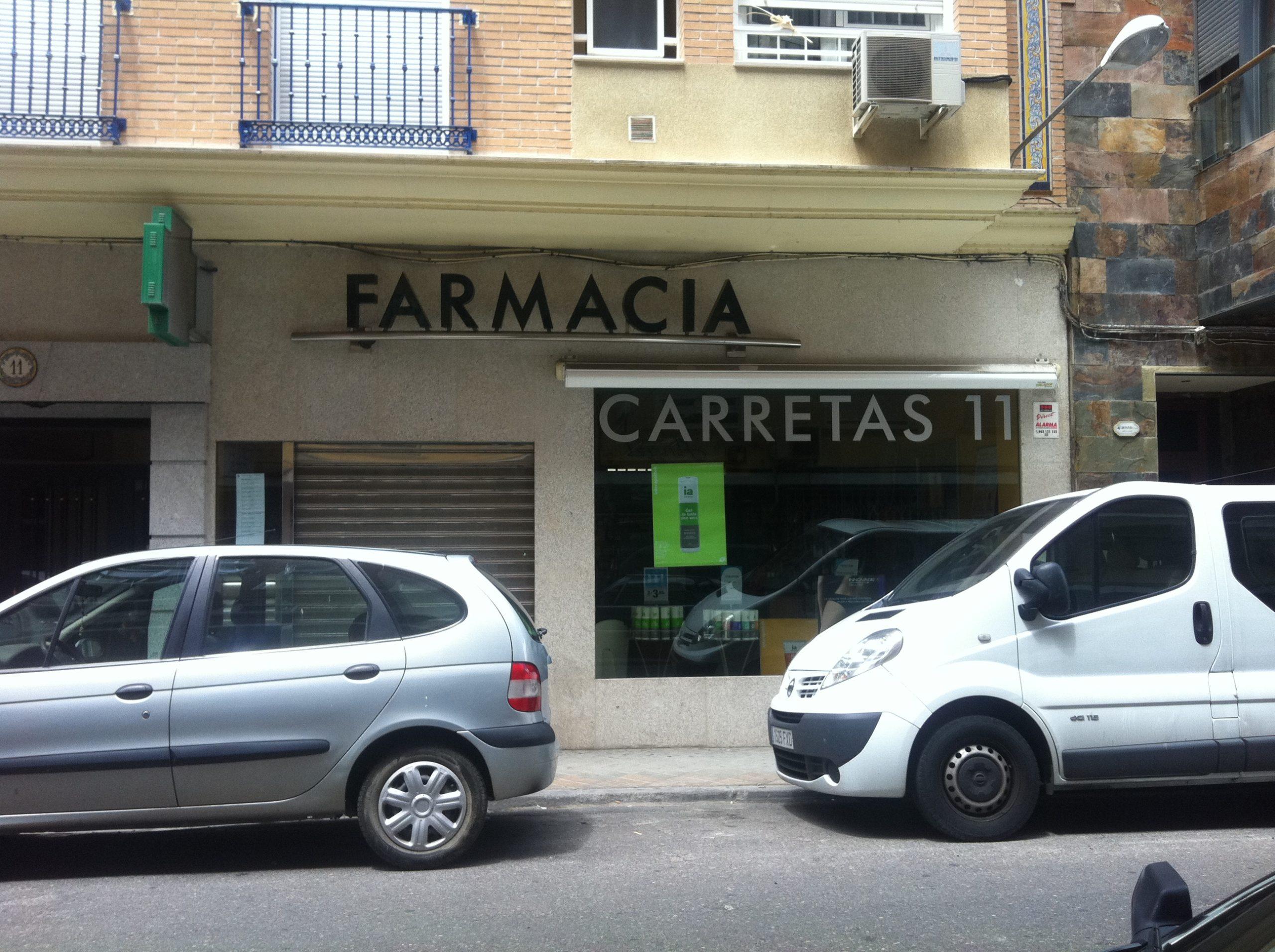 Farmacia vendida en Talavera de la Reina C/  Carretas