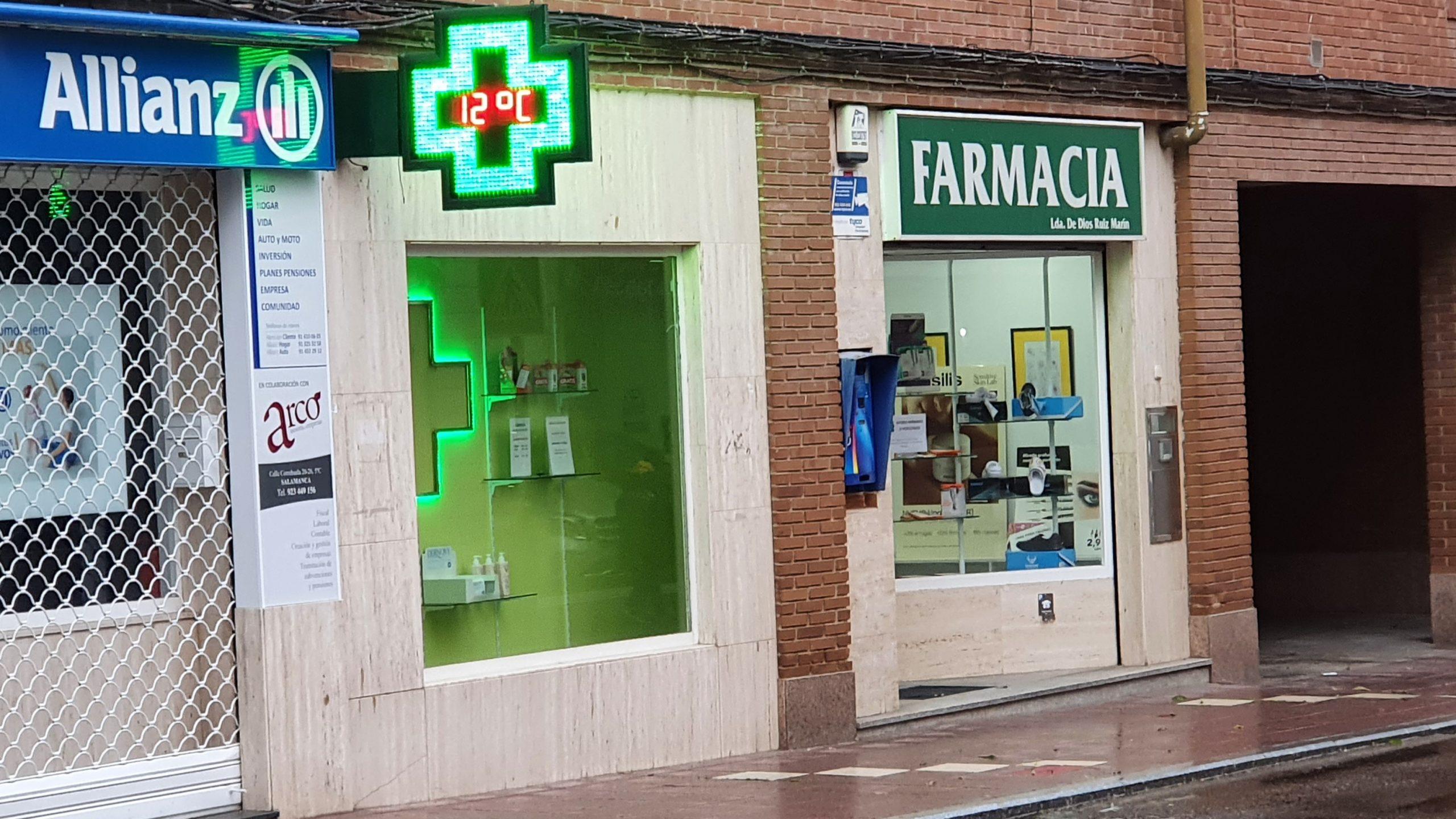 Farmacia vendida en Santa Marta de Tormes – Salamanca